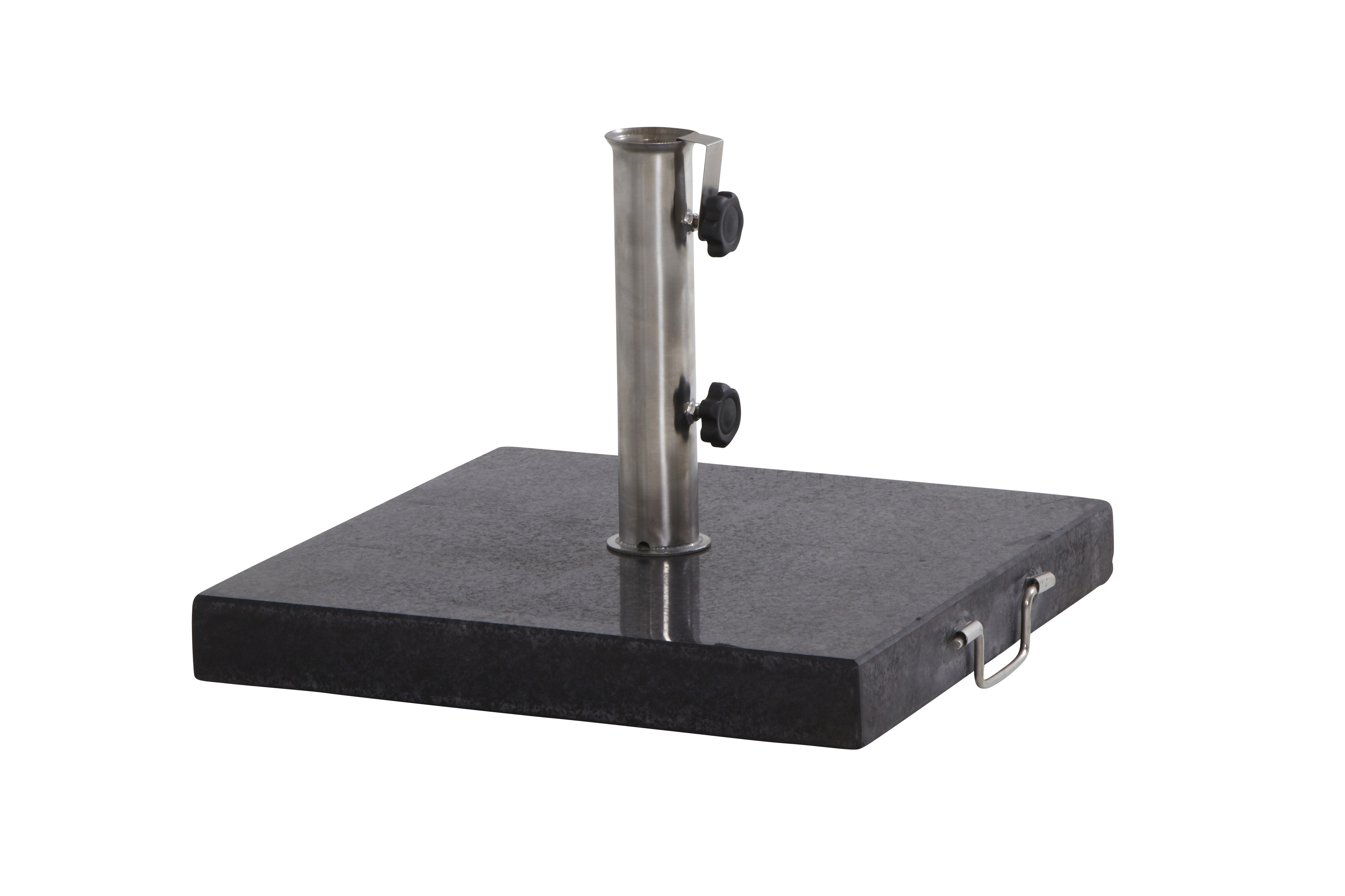 Granite base with handle 40 kgs.Square
