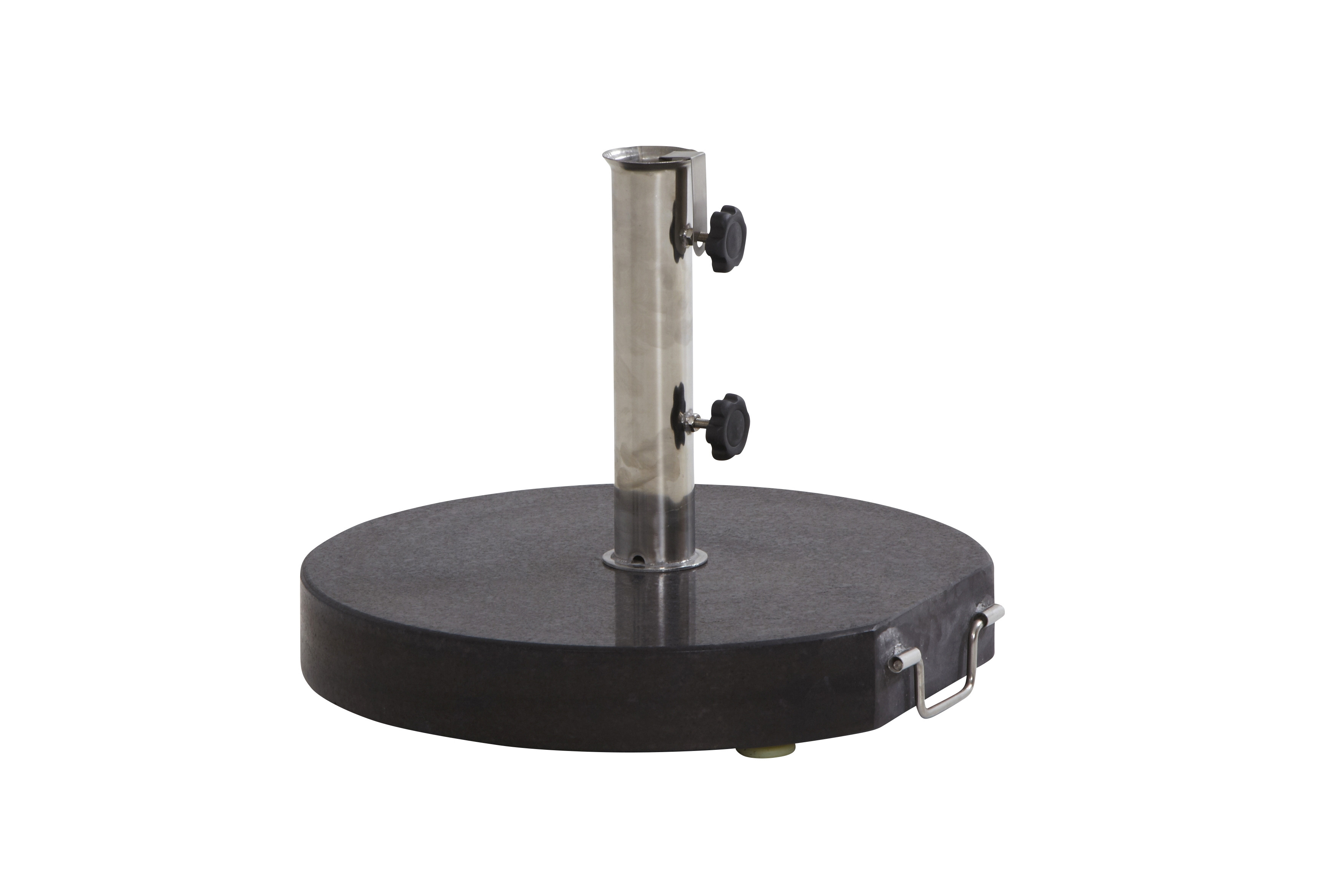 Granite base with handle 40 kgs. Round