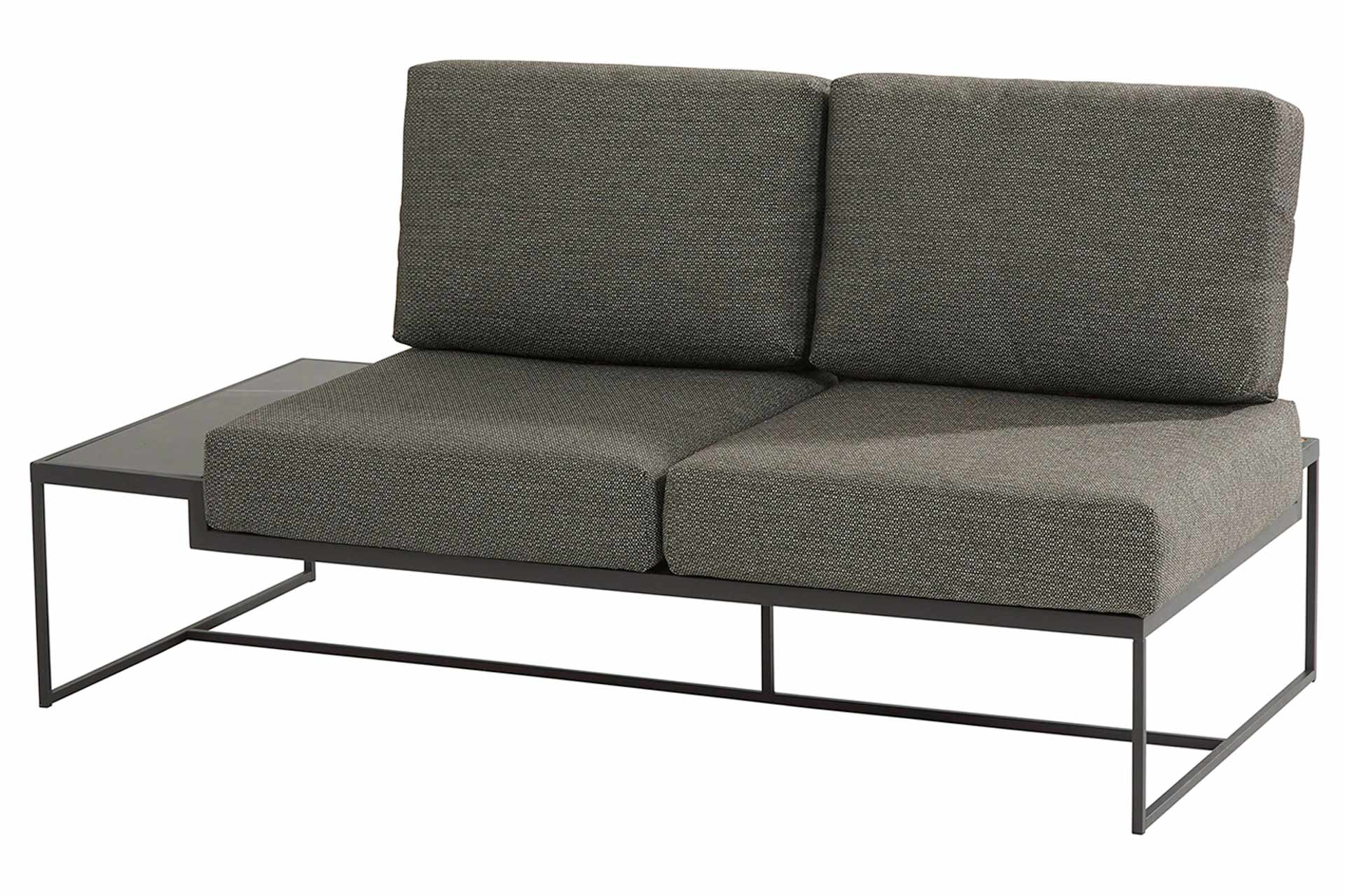 Patio platform 2 seater right with 4 cushions