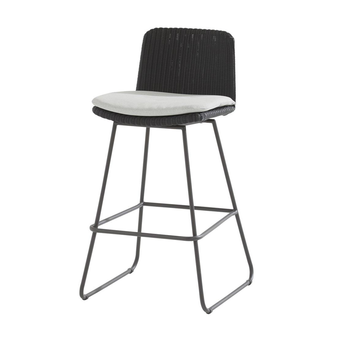 Avila Anthracite bar stoel