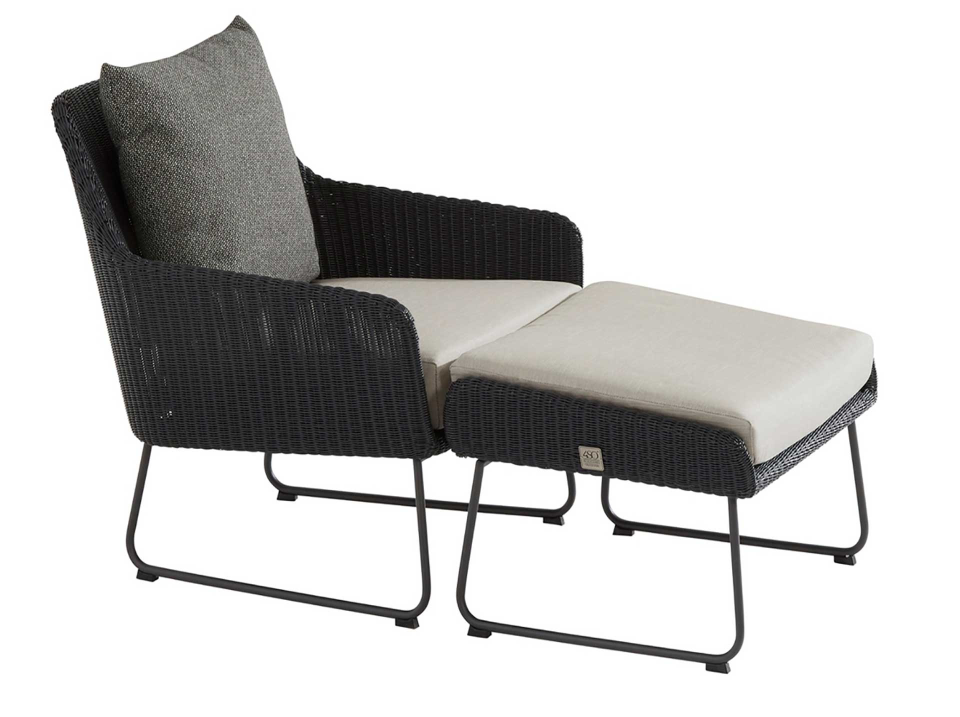 Avila anthracite lounge set
