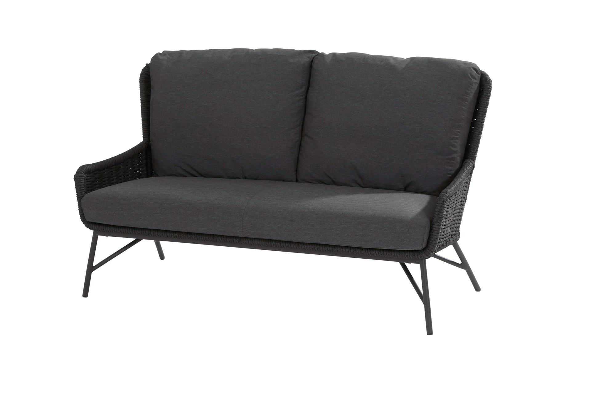 Wing 2.5 seater bench with 3 cushions