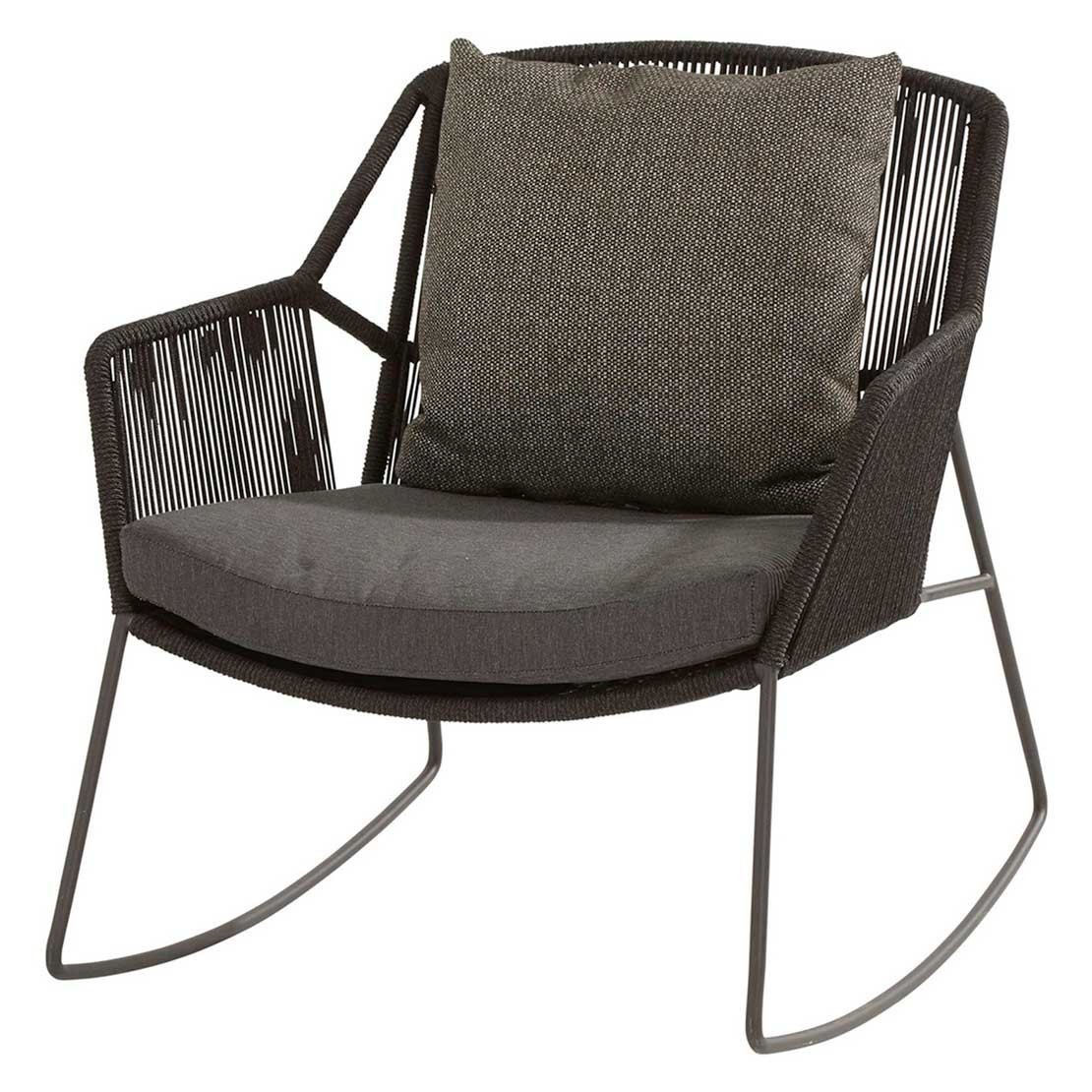 Accor rocking chair with 2 cushions
