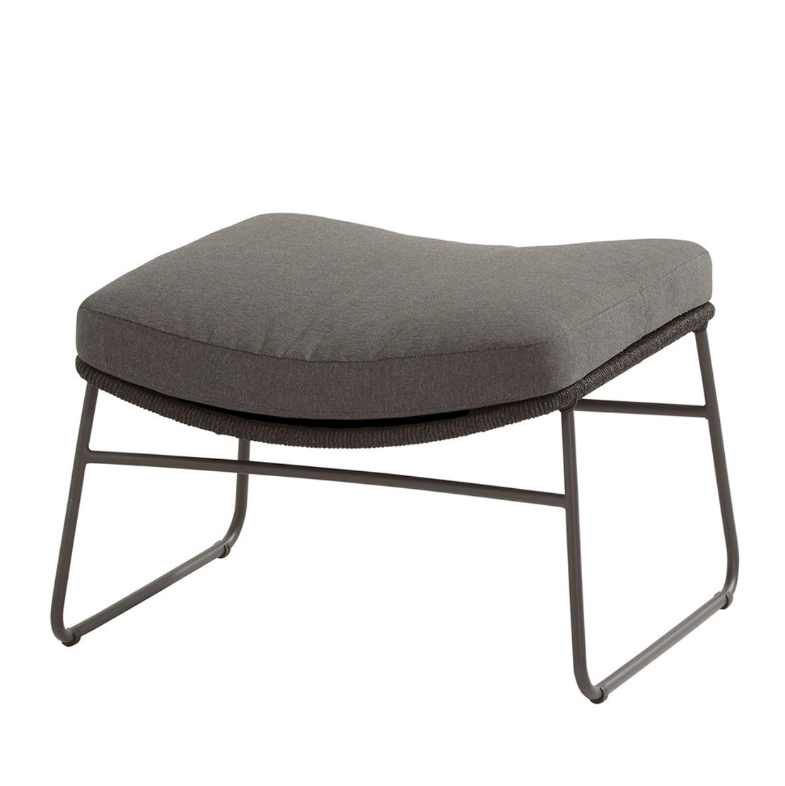Accor footstool with cushion