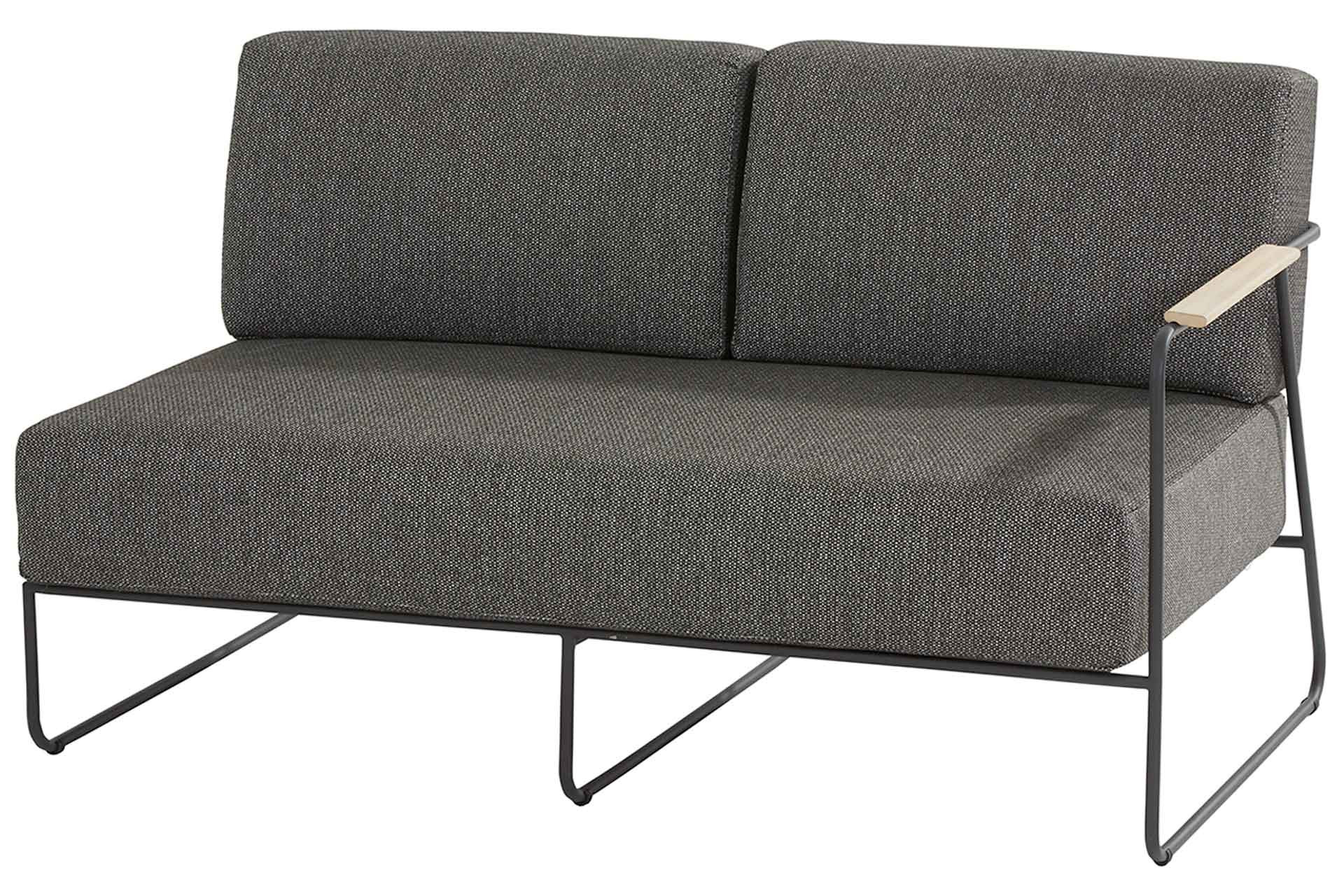 Coast modular 2 seater left arm with 4 cushions