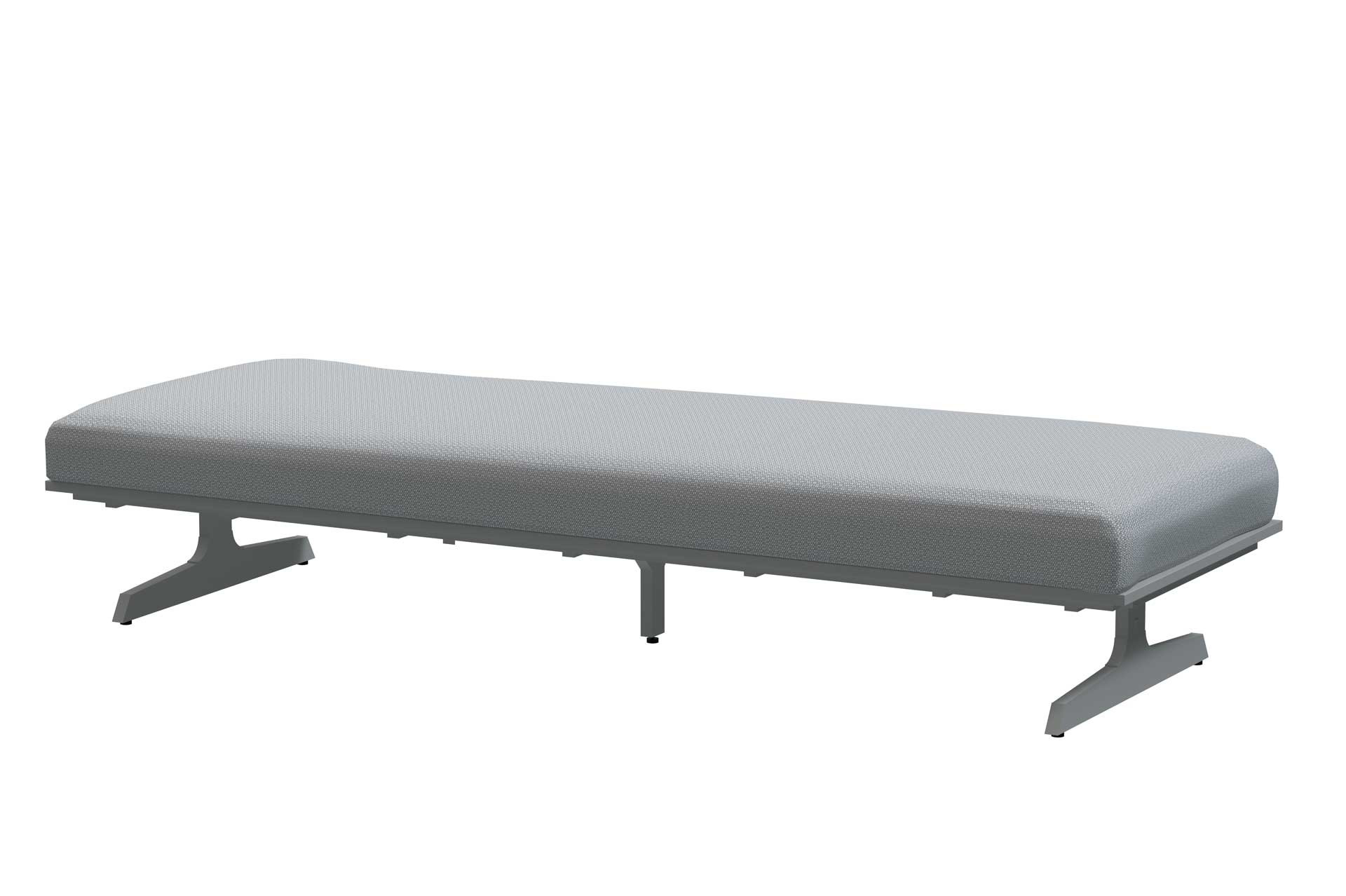 Play panel concept Frost Grey 3 seater base with cushion