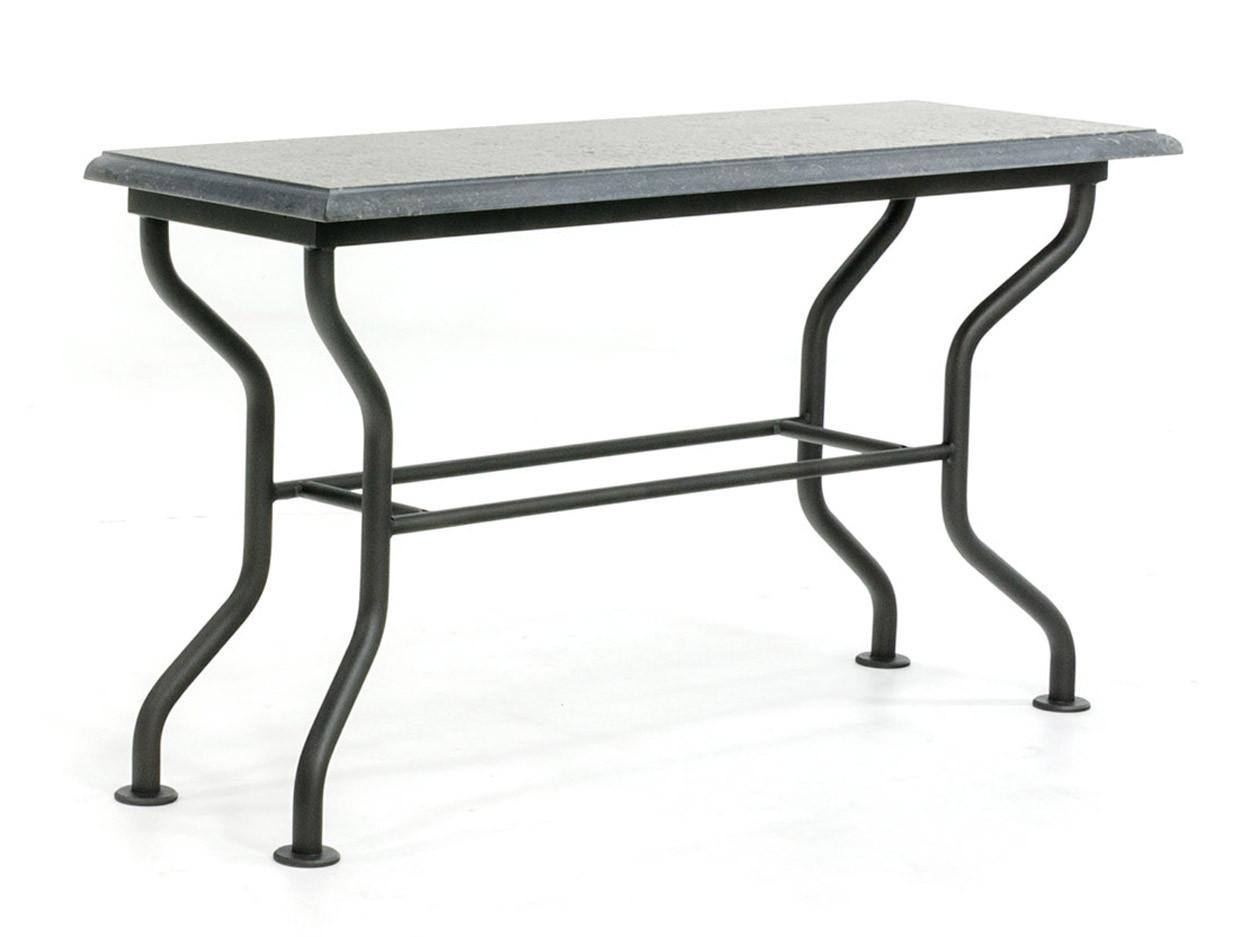 Klassieke side-table met hardstenen blad