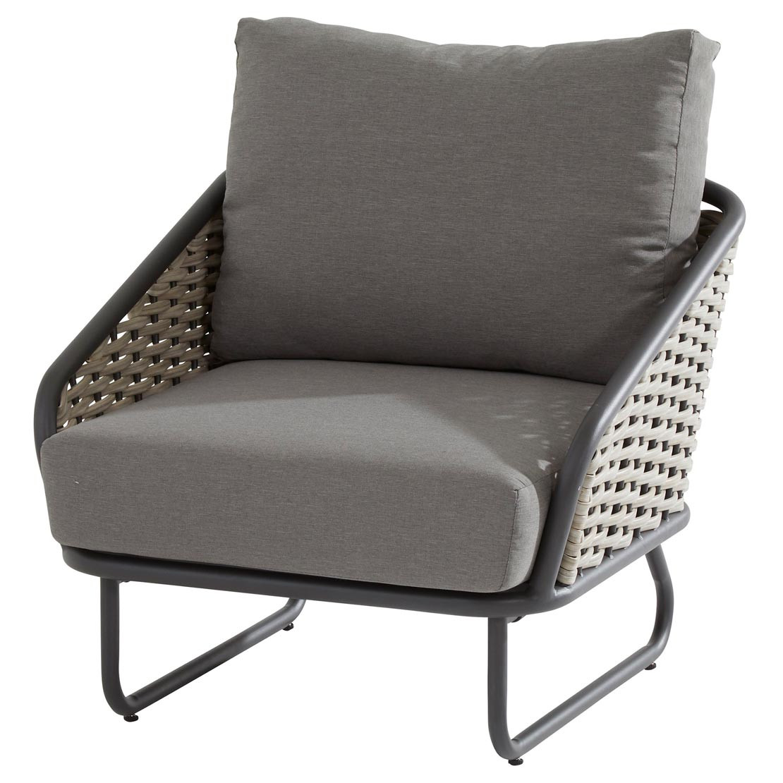 Bo living chair with 2 cushions