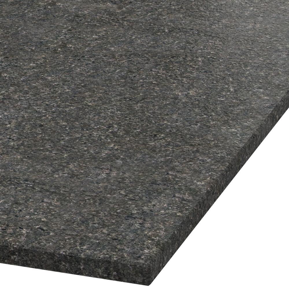 Blad 20mm dik Black Pearl graniet (leathered)