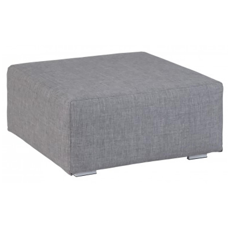 Kubbano ash grey hocker