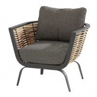 Antibes lounge chair with 2 cushions