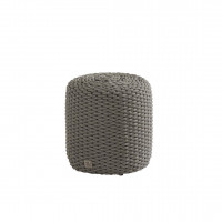 Muffin rope mid grey hocker