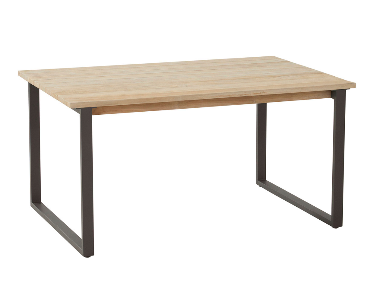 Bo cosy dining table 140 x 90 x 72 cm. Teak
