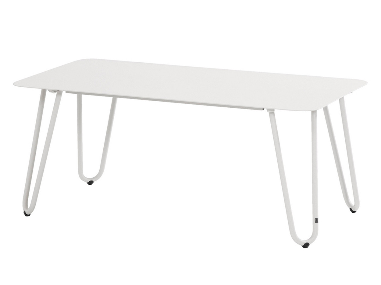 Cool white lounge tuintafel 110 x 59 x 45cm