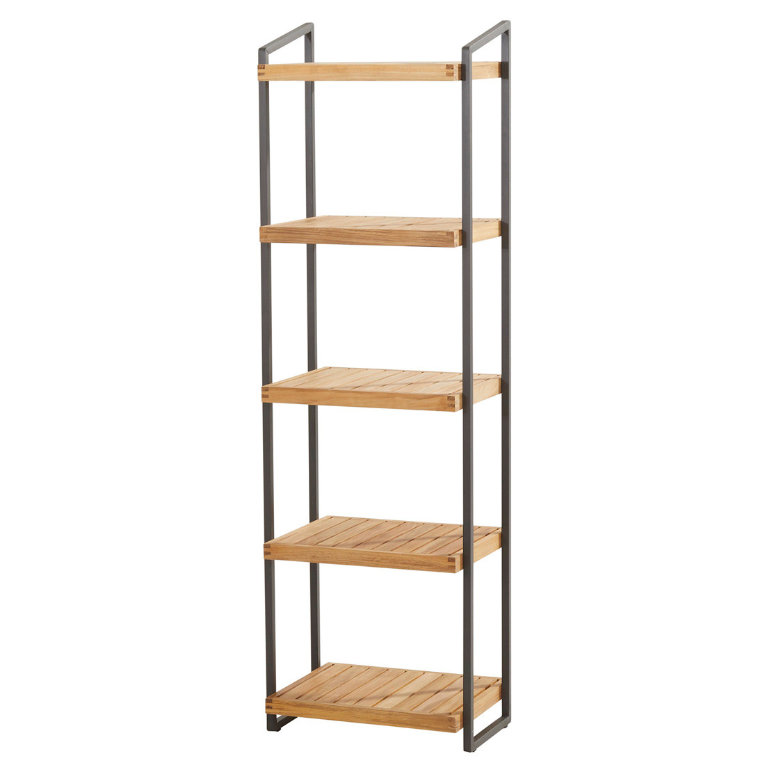 Rack with 5 shelves 50x40x175cm