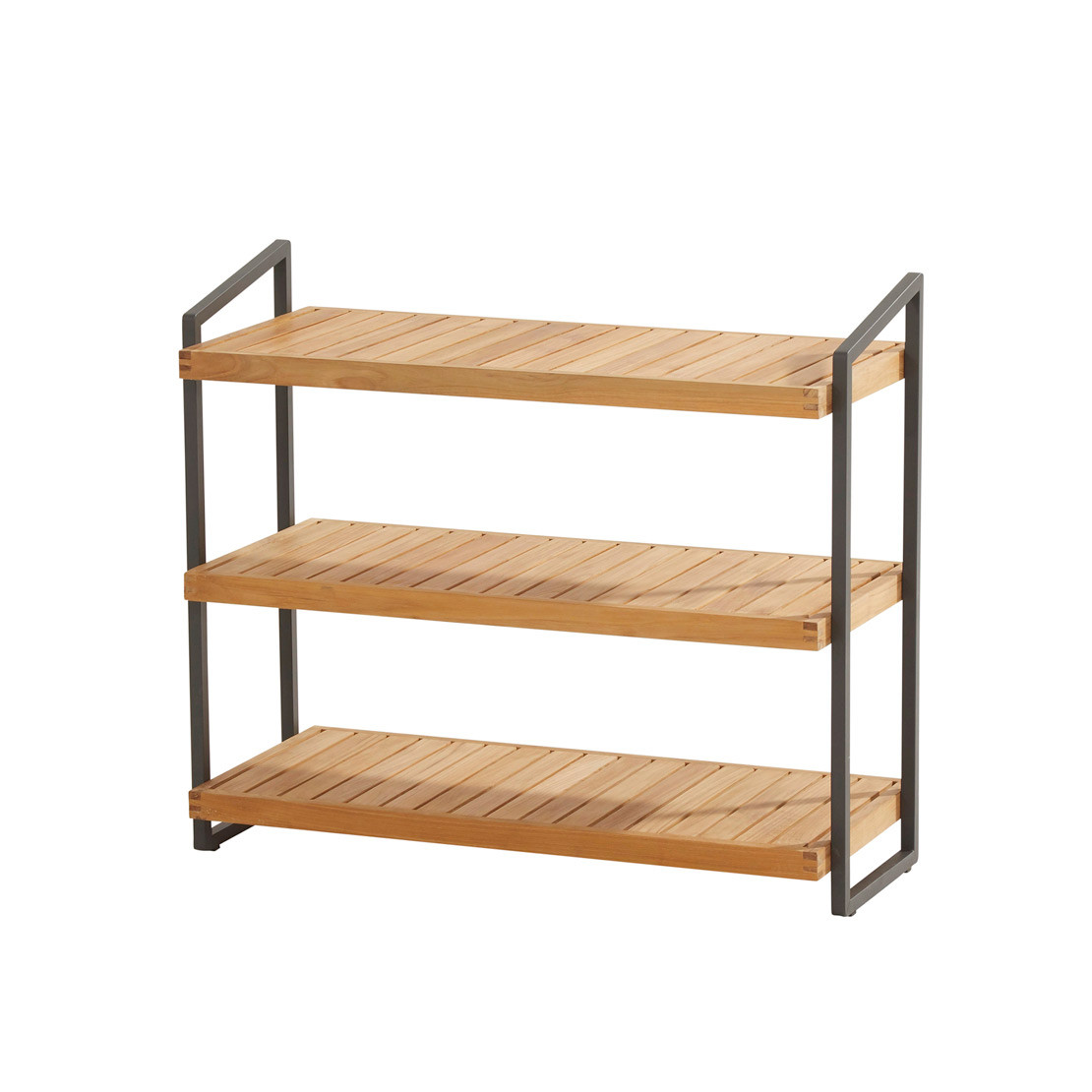 Rack with 3 shelves 90x40x80cm