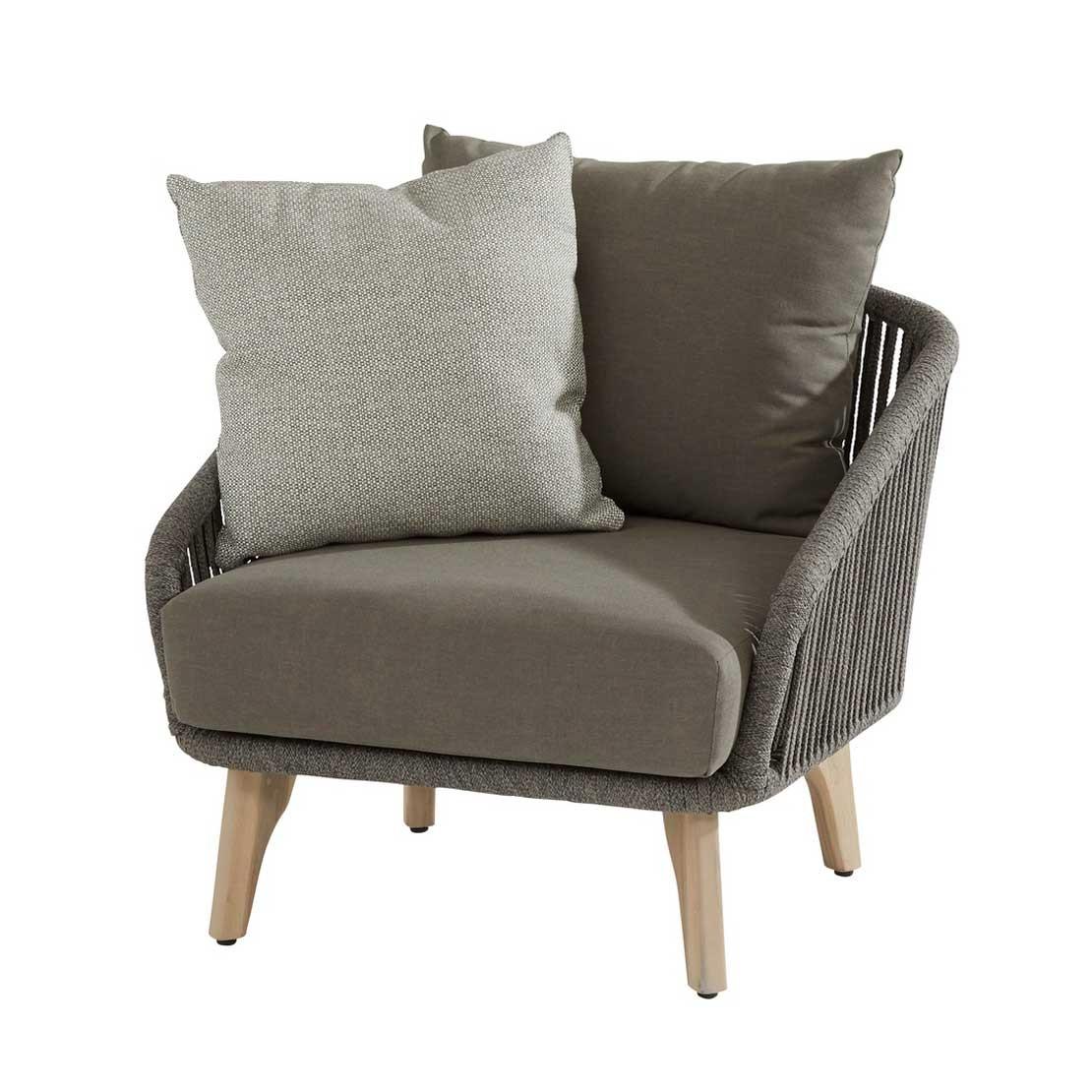 Santander teak lounge tuinstoel
