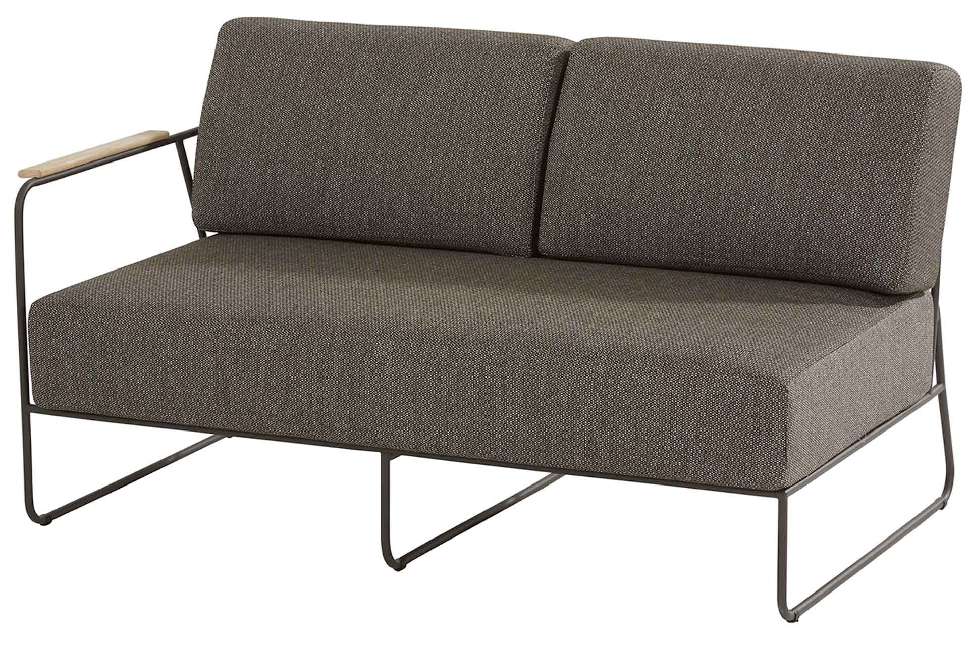 Coast modular 2 seater right arm with 4 cushions