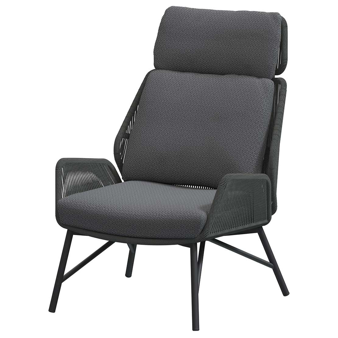 Carthago living chair Platinum with 2 cushions