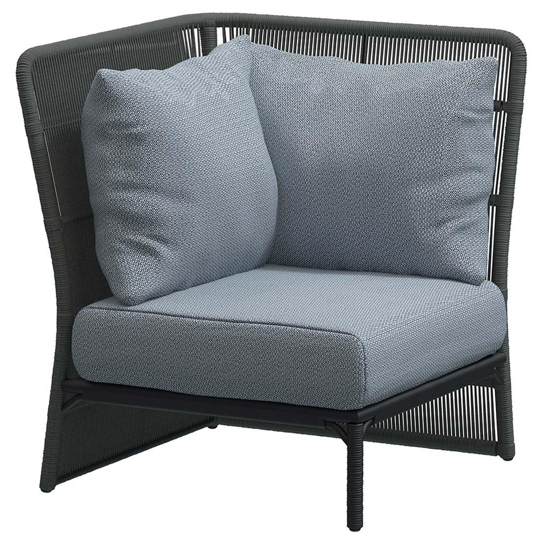 Oriënt Modular corner Platinuim with 3 cushions