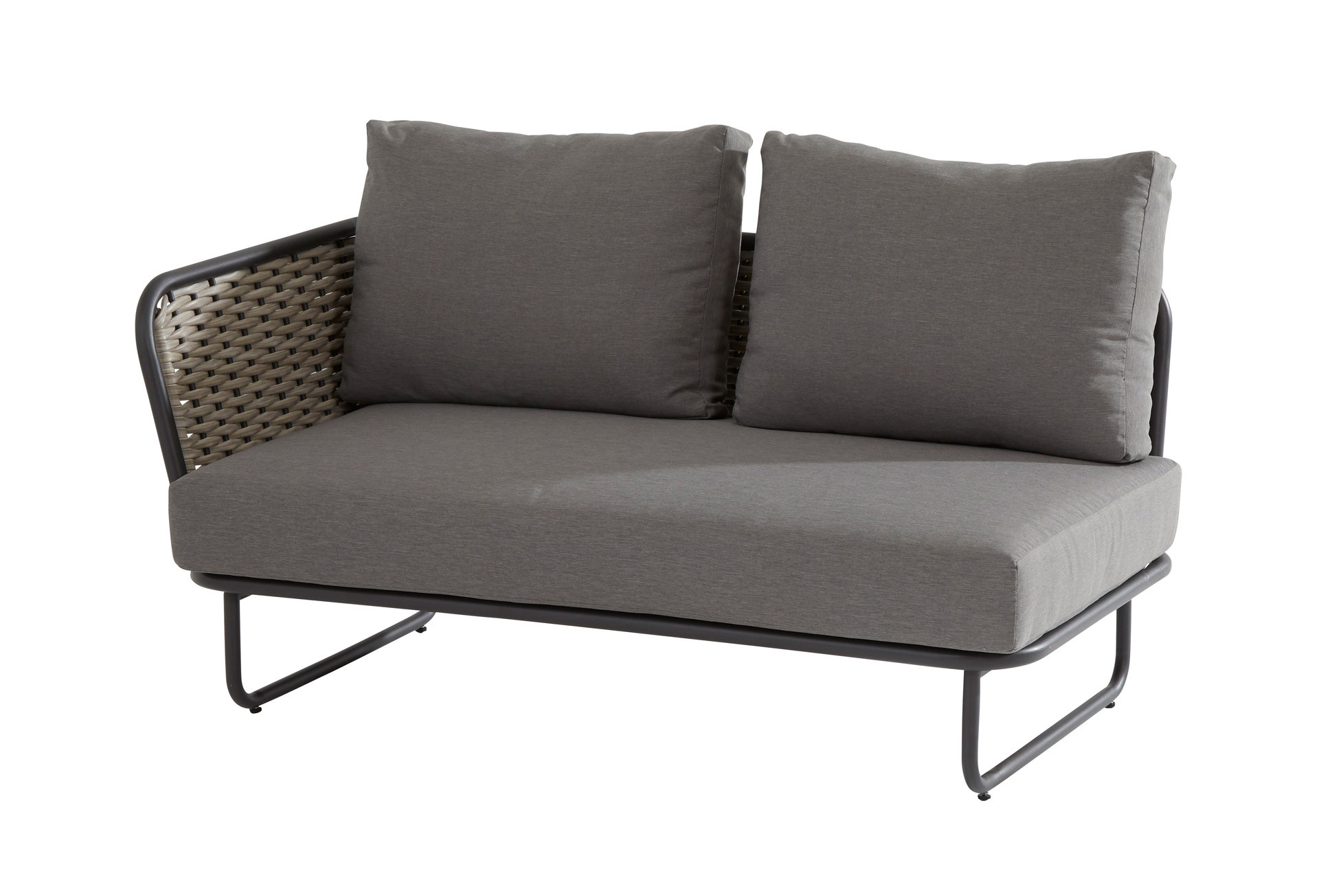 Bo 2 Seater right arm with 3 cushions