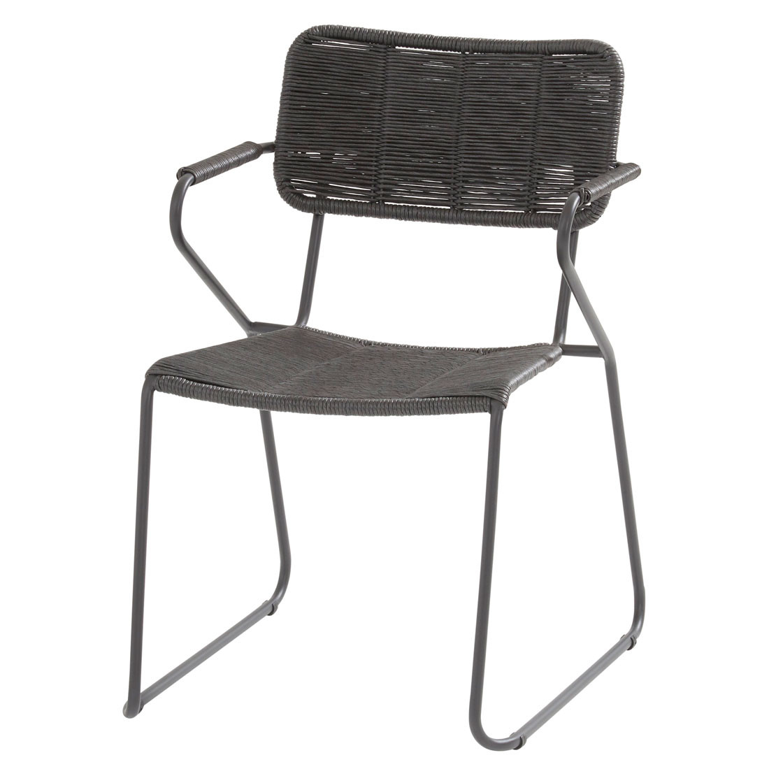 Swing stacking chair Anthracite