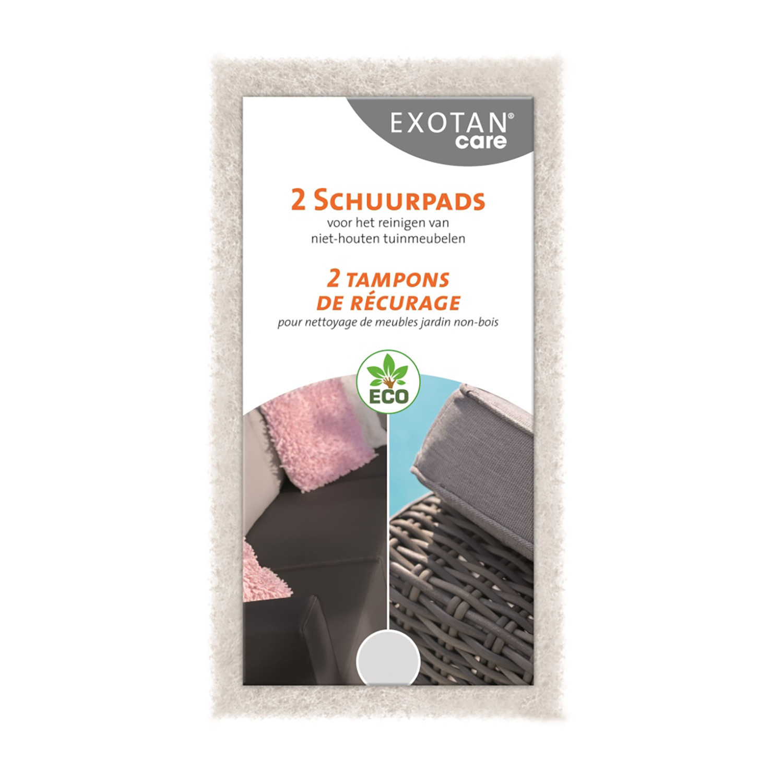 Exotan Care Scrub schuurpads (2 stuks)