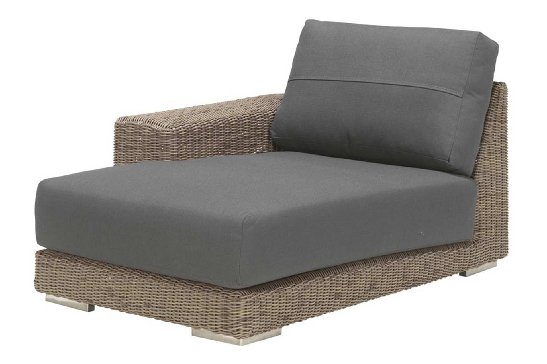 Kingston loungebank chaise lounge armleuning rechts