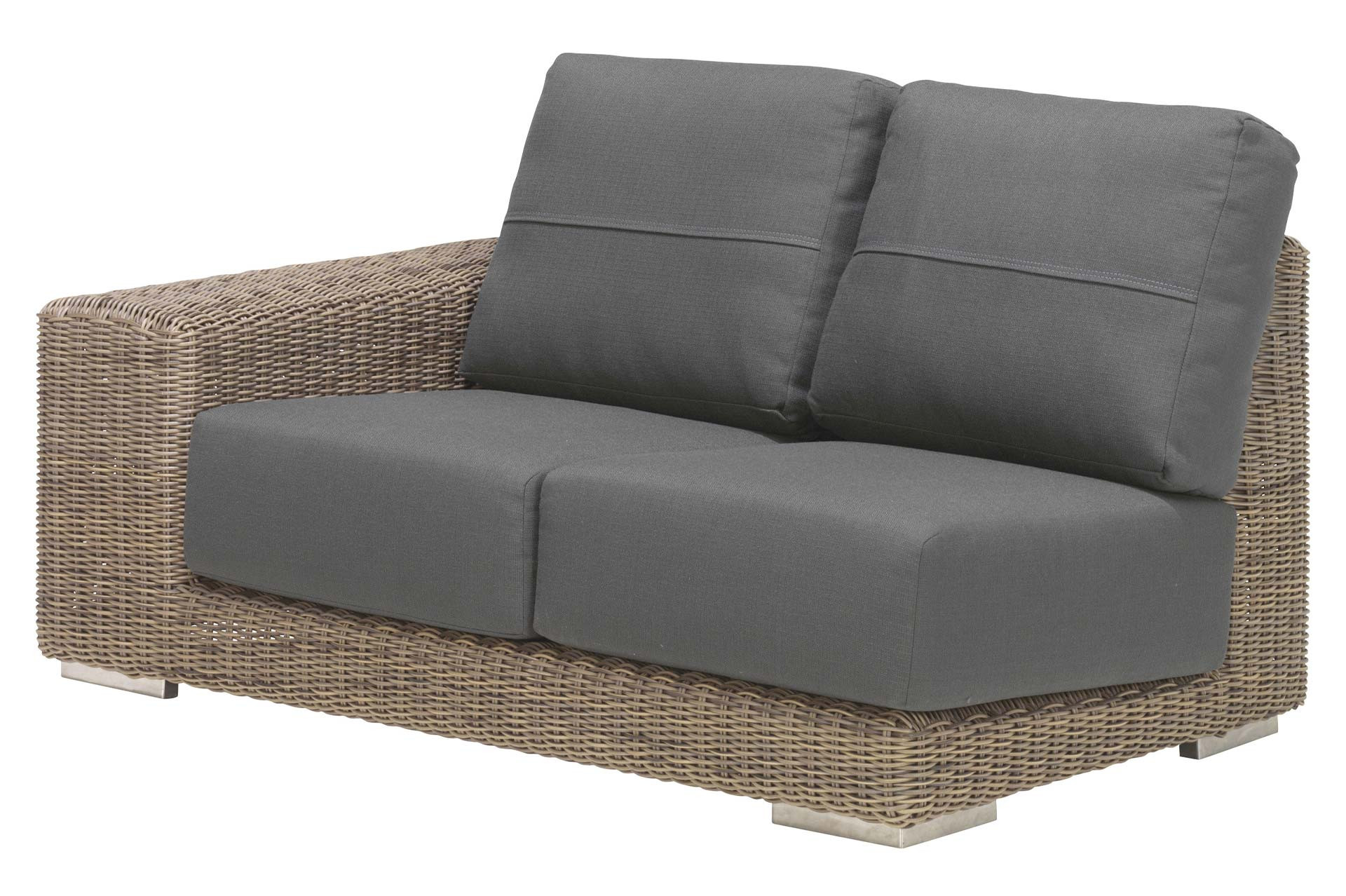 Kingston modular 2 seater right with 4 cushions